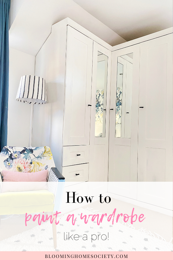 How to paint a wardrobe like a pro