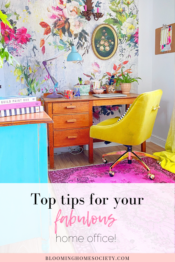 top tips for fab home office